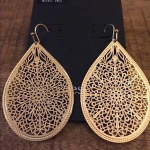 NEW Nordstrom's Faux Gold Earrings